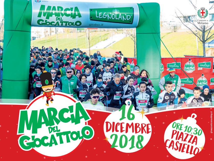 2^Marcia del Giocattolo: Milano corre per la solidarietà