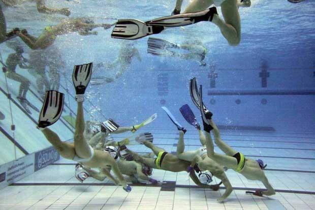 Hockey subacqueo, lo sport giocato in apnea - The Sport Spirit