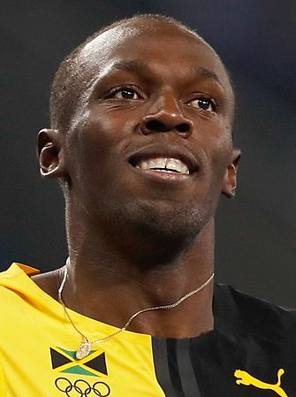 Bolt, detentore del record mondiale di velocità nei 100 metri