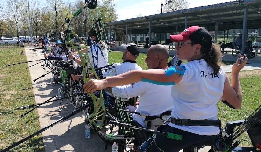 Terminato il raduno della Nazionale Para-Archery