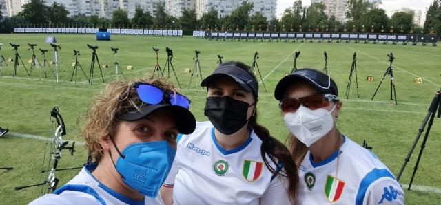 Franchini, Ret e Tonioli vincono il bronzo compound ai Campionati Europei
