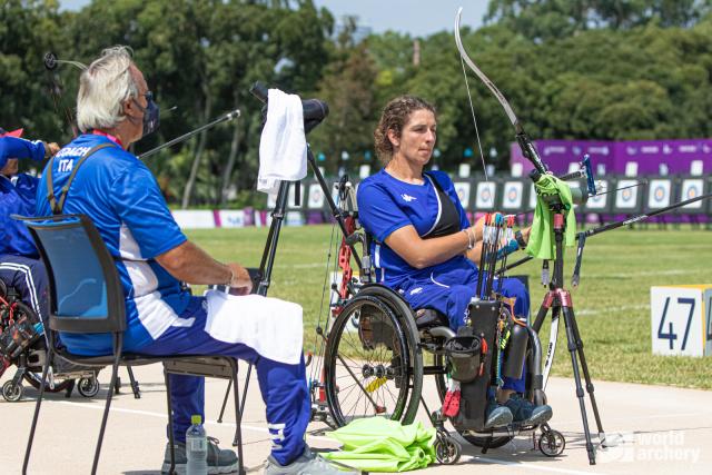 Nazionale Para-archery ranking round