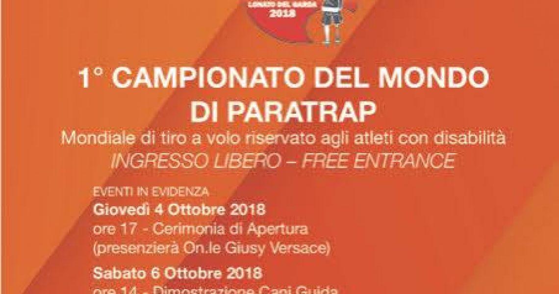 A Lonato del Garda il 1° Campionato del Mondo di Para Trap