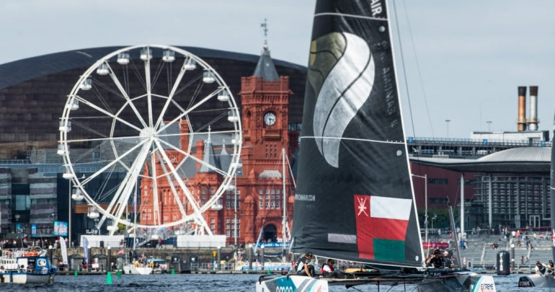 Extreme Sailing Series - Act 6 - Day 1 - Cardiff