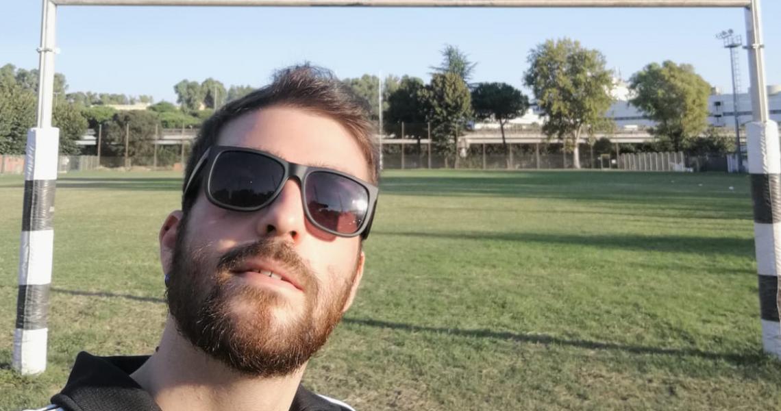 Giocare a rugby l'esperienza di Cristiano Colagrossi