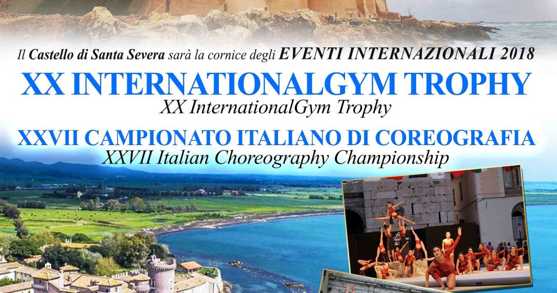 Il 15 giugno si dà il via all'International Gym e al Campionato Italiano di Coreografia