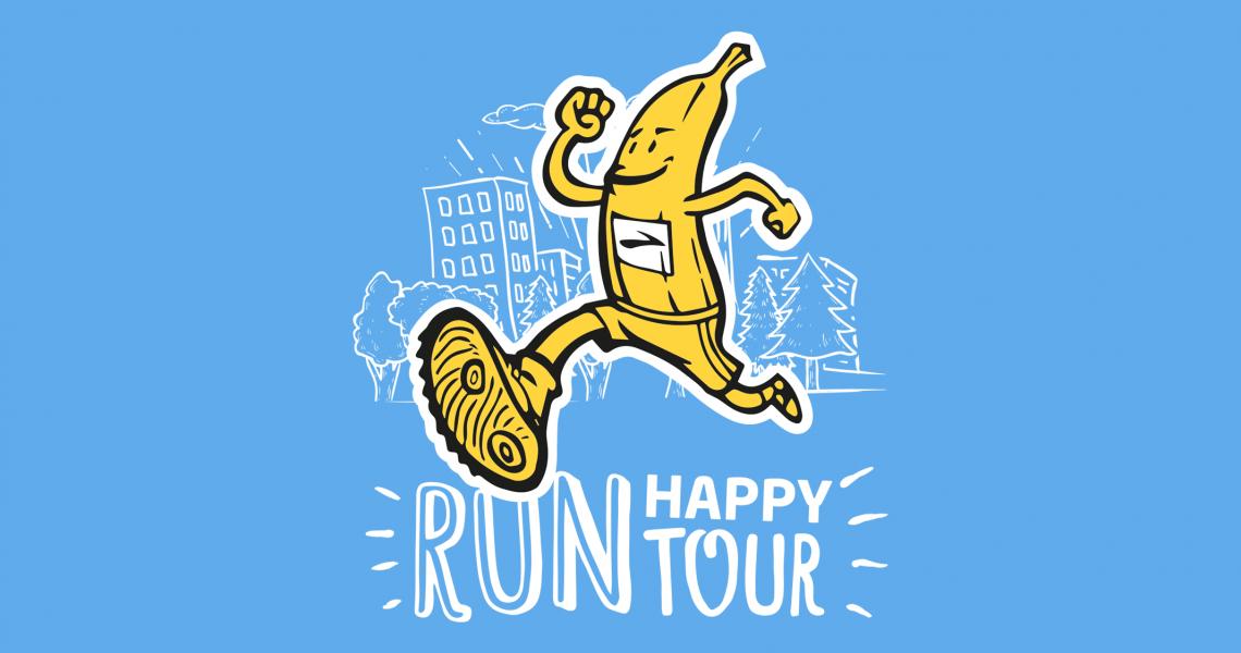 L'8 settembre a Torino si dà il via al Run Happy Tour scoprite tutte le tappe