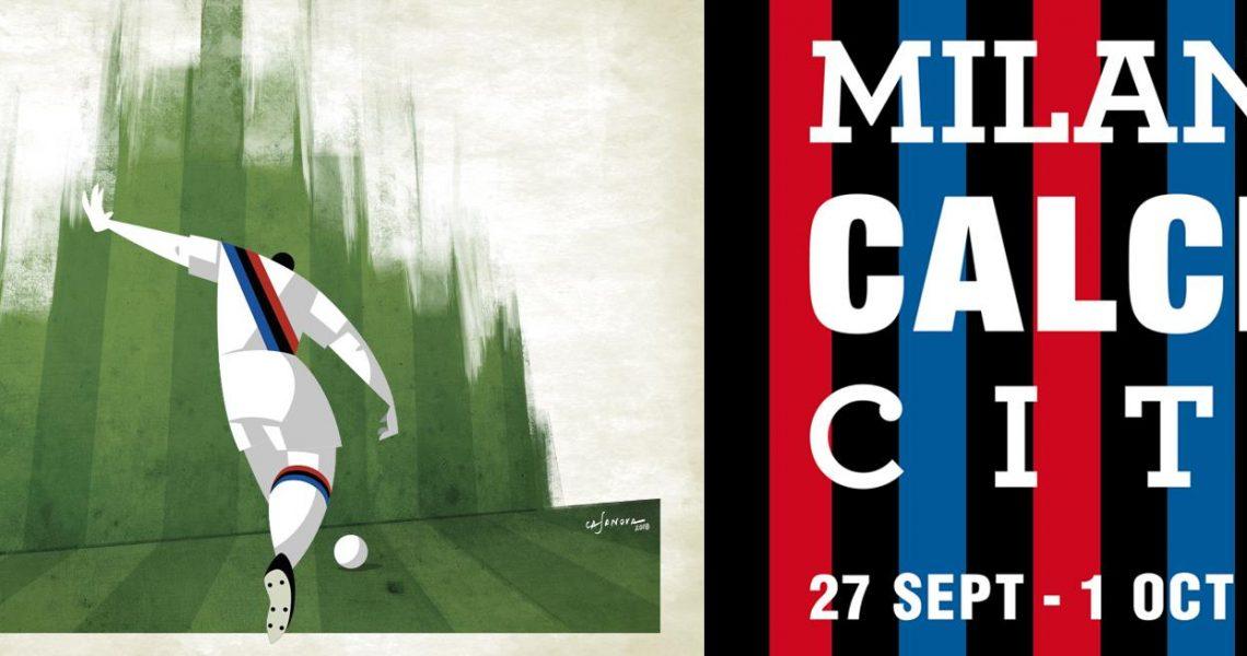 Milano Calcio City 2018 in mostra dal 27 settembre fino al 1 ottobre alla Triennale