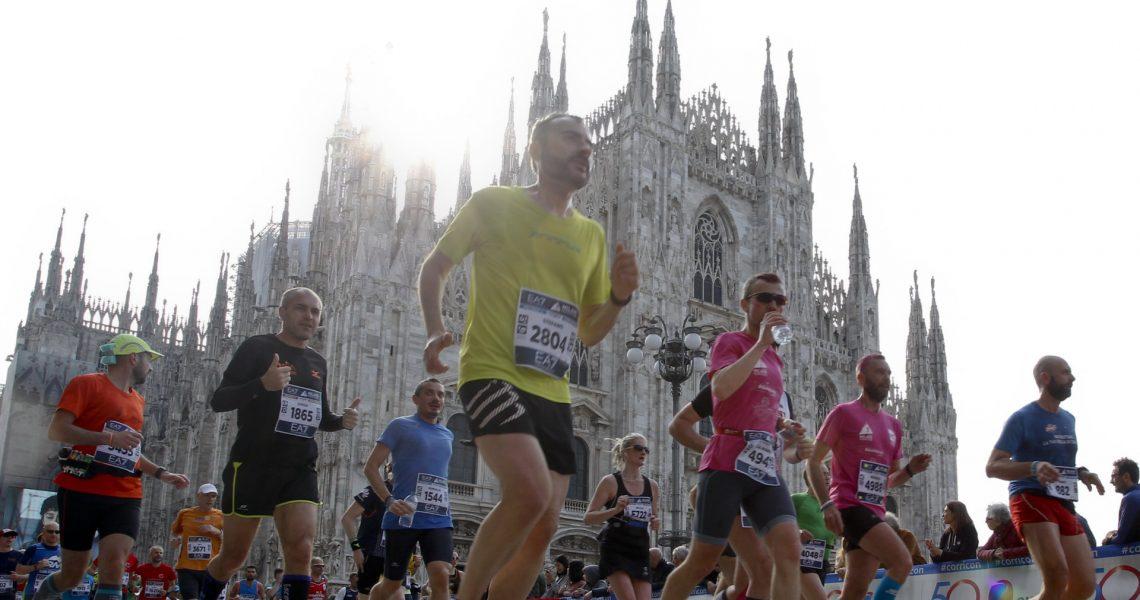 Spada / LaPresse Maratona 2018 RCS Piazza Duomo