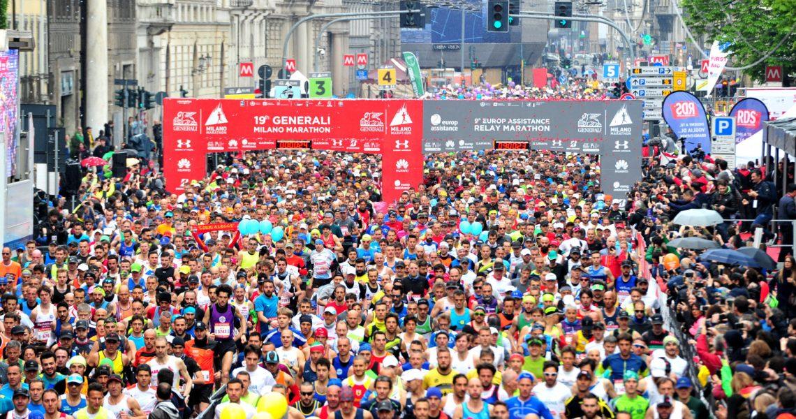 Start Generali Milano Marathon 2019
