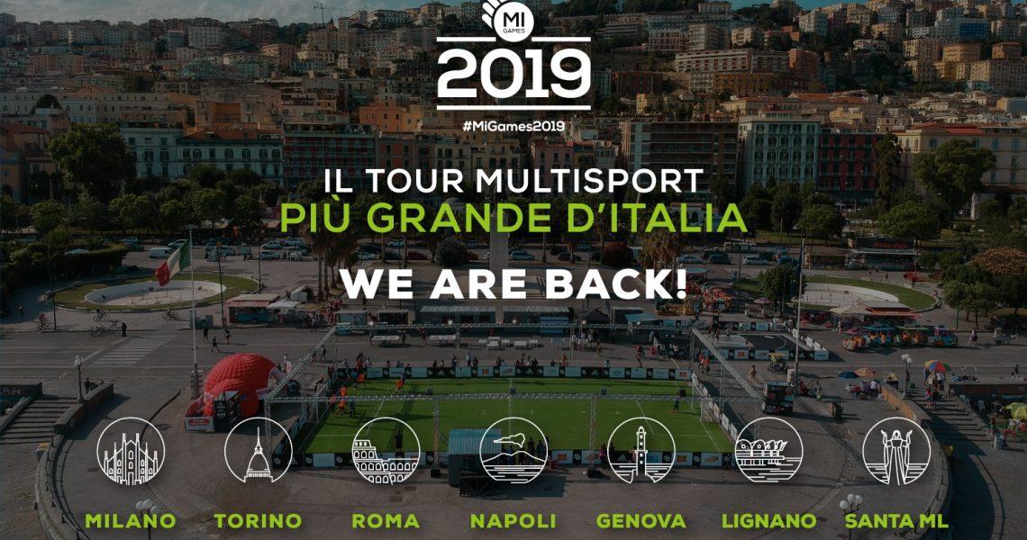 locandina Mi Games Tour 2019